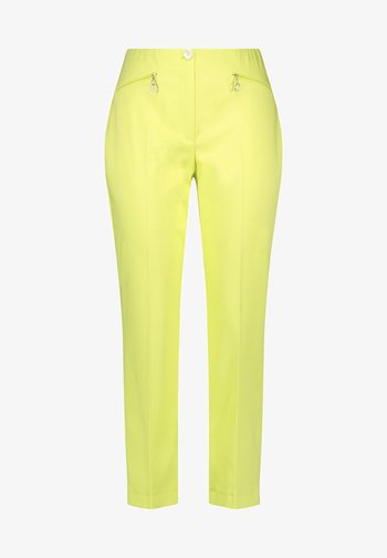 Trousers - light lime