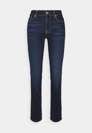 THE STRAIGHT RINSED BLUE - Jeans Straight Leg - dark blue