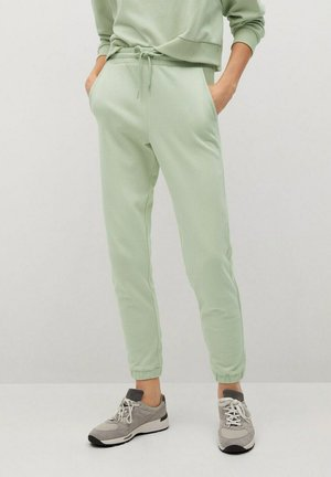 RELAX-A - Tracksuit bottoms - vert pastel