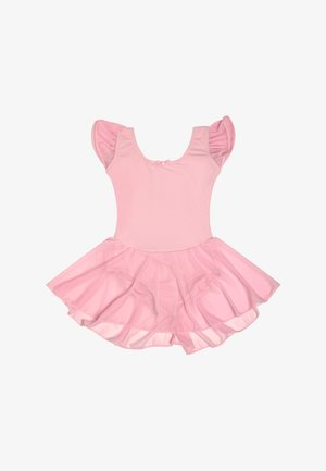 BALLET FLUTTER SLEEVE DRESS - Jurken - pink
