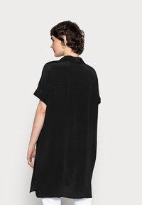 Opus - FARTAN - Button-down blouse - black - 2