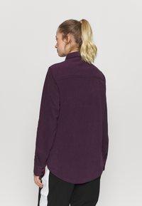 Rojo - MAIN STREET - Button-down blouse - blackberry wine - 2
