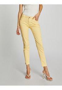Morgan - Jeans Skinny Fit - yellow - 0