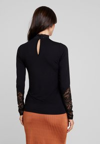 Culture - BLOUSE - Long sleeved top - black - 2