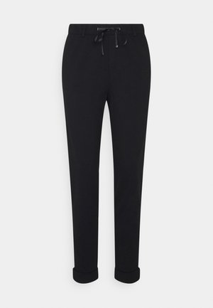 MR PUNTI - Trousers - black