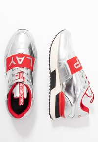 Replay - MEW - Trainers - silver/red - 3