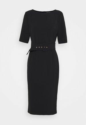 CAPANNA - Shift dress - nero