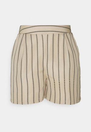 VIETNA  - Shorts - humus/black