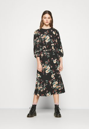 ONLZILLE NAYA SMOCK DRESS - Day dress - black