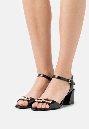 CHAIN  - Sandals - nero