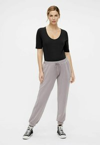 MAMALICIOUS - Tracksuit bottoms - dark grey - 1