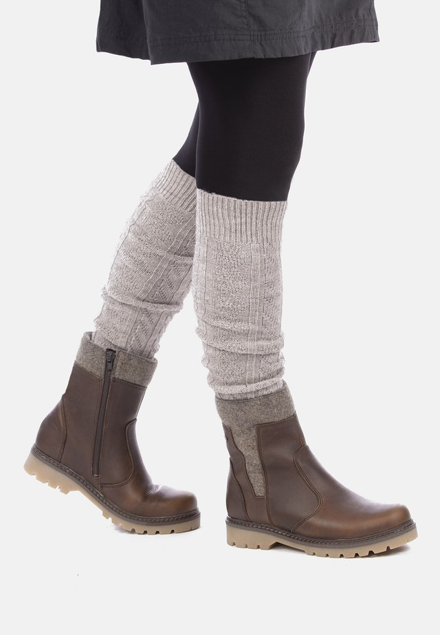 HAAPA - Ankelstøvler - brown