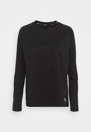 DANCE LAYERING - Langarmshirt - black/white