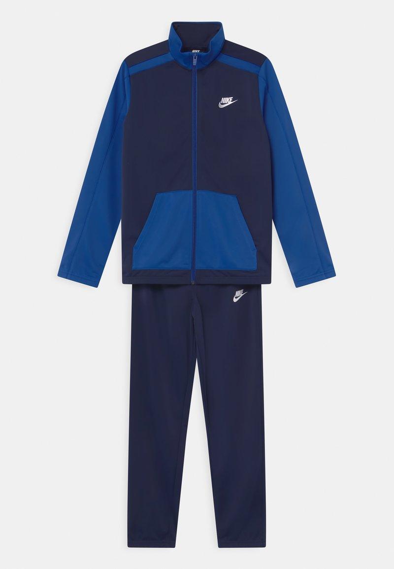 Nike Sportswear - FUTURA SET UNISEX - Tepláková souprava - midnight navy/game royal