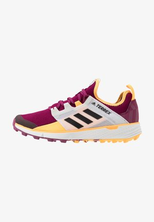 TERREX SPEED LD - Trail running shoes - power berry/core black/solar gold