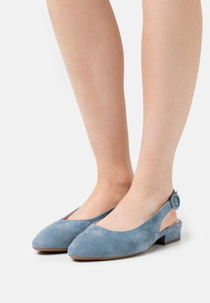 FASELLE - Baleríny s otevřenou patou - jeans