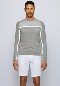 BOSS - REMI - Jumper - light grey - 0
