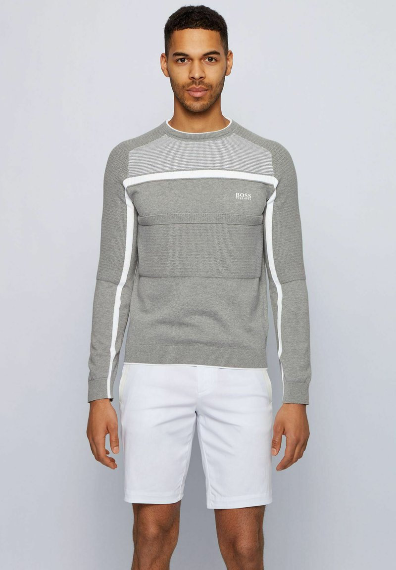 BOSS - REMI - Jumper - light grey