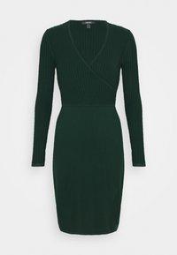 Esprit Collection - DRESS - Shift dress - bottle green - 0