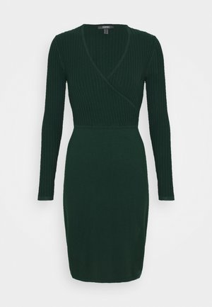 DRESS - Shift dress - bottle green