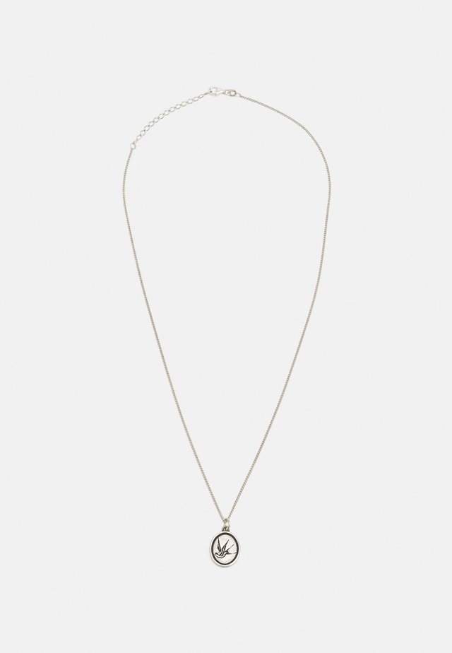 EARLY BIRD UNISEX - Necklace - silver-coloured