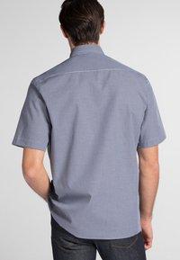 Eterna - REGULAR FIT - Shirt - marine/white - 1