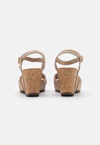 Copenhagen Shoes - ELVIRA  - Platform sandals - beige - 3