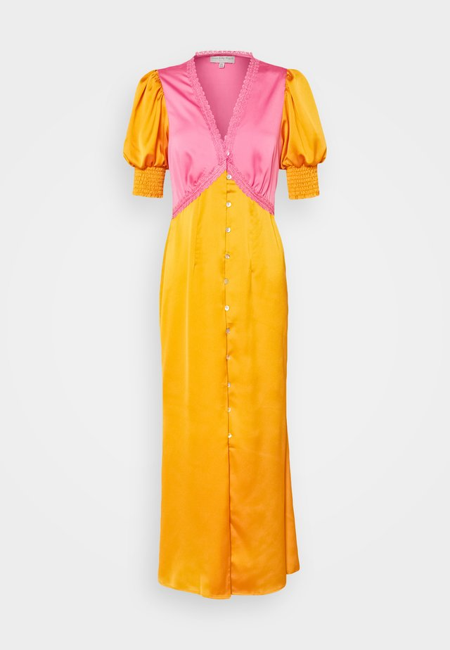 LINDOS DRESS - Maxi-jurk - orange