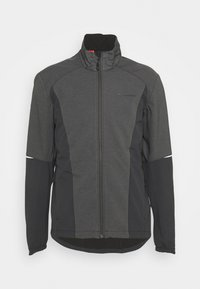 Vaude - MENS WINTRY JACKET IV - Softshelljacke - black - 5