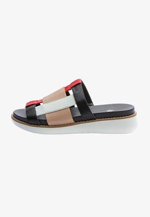 Slip-ins - black/beige