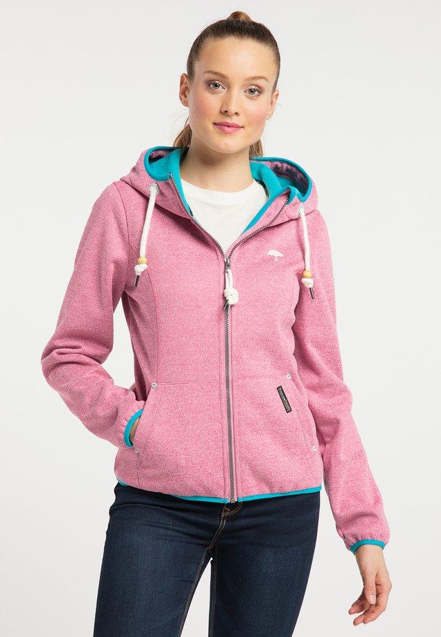 Outdoor jakke - pink melange