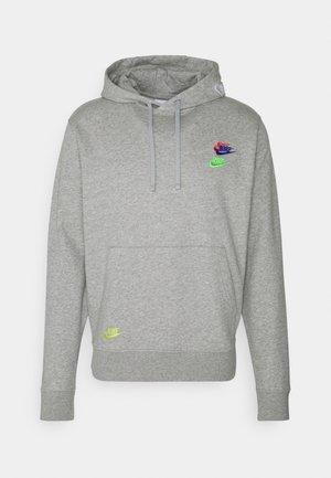 Jersey con capucha - grey heather/base grey
