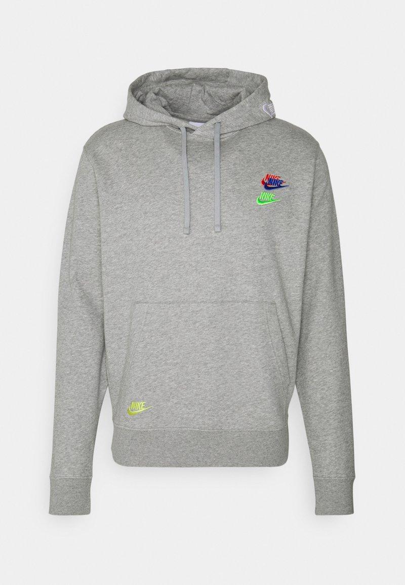 Nike Sportswear - Jersey con capucha - grey heather/base grey