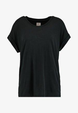 KAJSA - Basic T-shirt - black wash