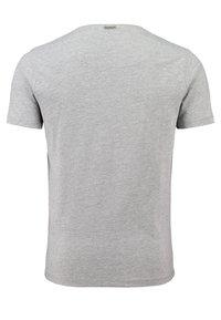 Key Largo - MT SPICY DOUBLE PACK - Basic T-shirt - silver melange - 2