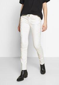 Mos Mosh - BRADFORD WORKED - Jeans Skinny Fit - white - 0
