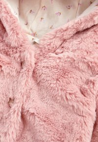 Next - HOODED EARS COSY BUTTON-UP  - Fleece jacket - pink - 3