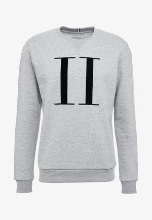 ENCORE - Sweatshirt - grey melange / black