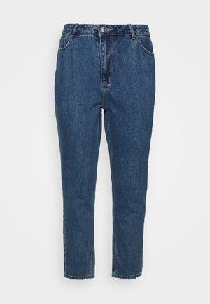 VMJOANA MOM ANKLE - Relaxed fit jeans - medium blue denim