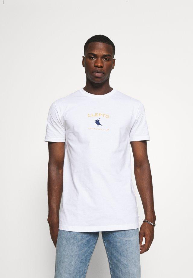 GULLFLYERS - Print T-shirt - white
