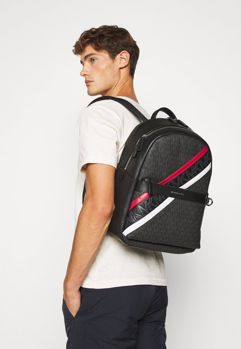Michael Kors - GREYSON BACKPACK UNISEX - Sac à dos - black
