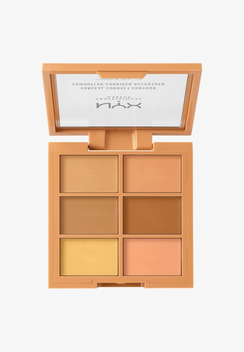 Nyx Professional Makeup - 3C PALETTE CONCEAL,CORRECT,CONTOUR - Face palette - 2 medium