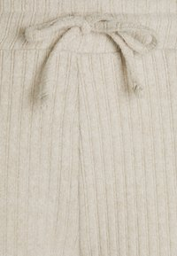 Topshop Petite - NEW COSY BRUSHED JOGGER SET - Top - stone - 2