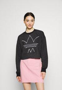 adidas Originals - Sweatshirt - black melange - 0