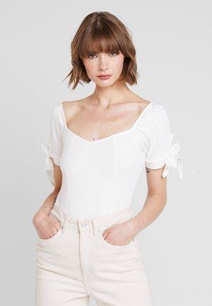 BODYSUIT - T-shirt imprimé - white