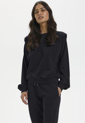 Sweatshirt - black deep