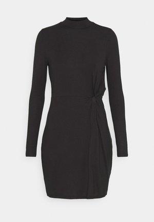 VMNORA SHORT DRESS - Jerseykjoler - black