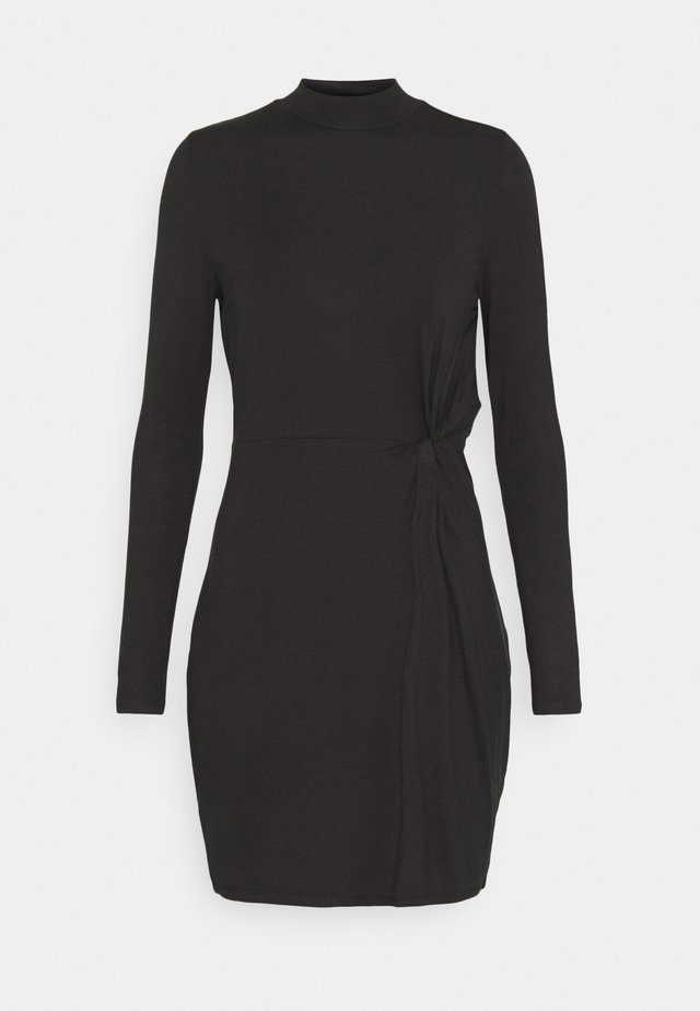 VMNORA SHORT DRESS - Jersey dress - black