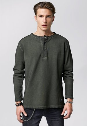ZACH - Long sleeved top - vintage forest green