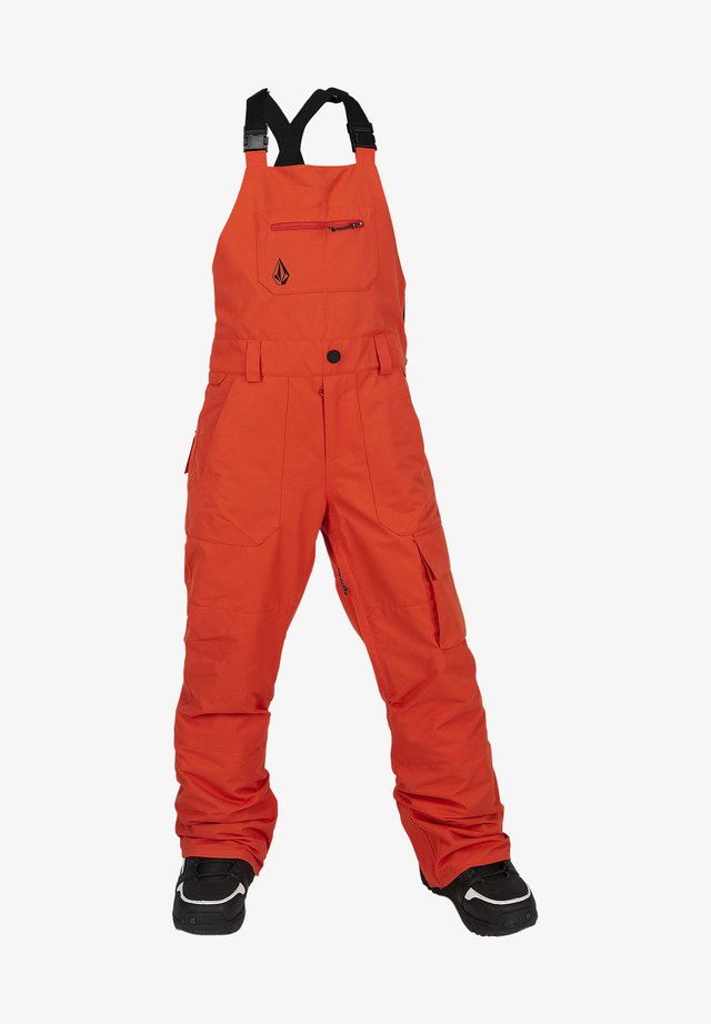 BARKLEY - Pantalon de ski - orange